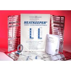 Reflexná fólia za radiátor Heatkeeper - 10 panelov