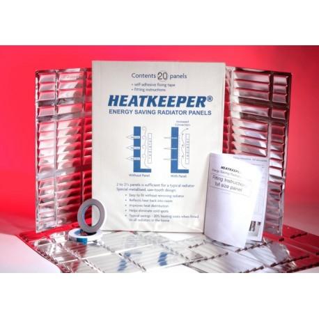 Reflexná fólia za radiátor Heatkeeper - 20 panelov