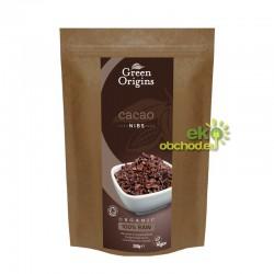 Kakaové bôby Criollo drvené BIO 300g - Green Origins