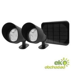 Solárny záhradný reflektor SolarCentre - Selene SS7570 (sada 2 svetiel)