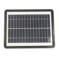 Solárna nabíjačka pre dobíjanie autobatérií a dobíjanie mobilných telefónov - 6W/12V