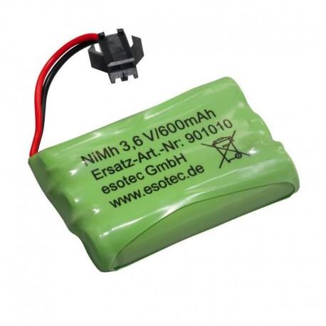 Náhradná batéria Esotec 901010 Ni-MH 600mAh 3,6V