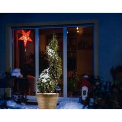 Solárna LED reťaz Esotec 102111 - 100 LED / 10m ružová