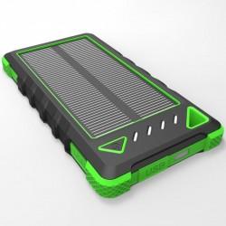 Solárna nabíjačka 1W 8000mAh zelená