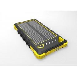 Solárna nabíjačka 1W 8000mAh žltá