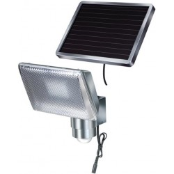 Solárne senzorové osvetlenie Brennenstuhl SOL 80 ALU 1170840 - 8 LED chrómové