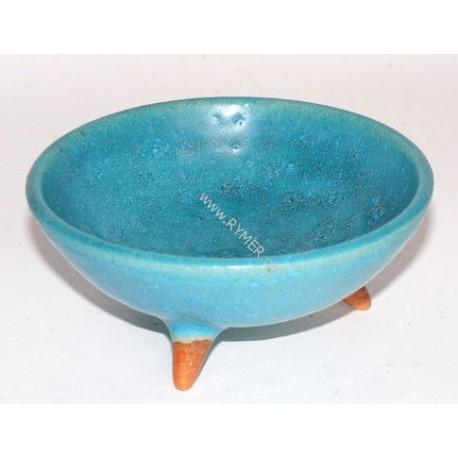 Kadidelnica keramická -miska tyrkysová