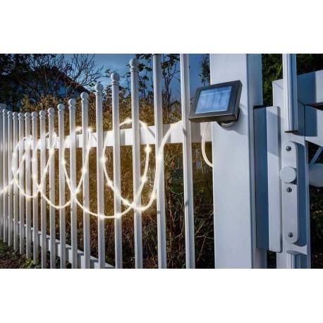 Solárny svetelný had Esotec 102159 50 LED 7m - teplá biela