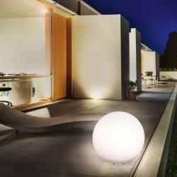 Solárna guľa Esotec Mega Ball 106026 - 50cm