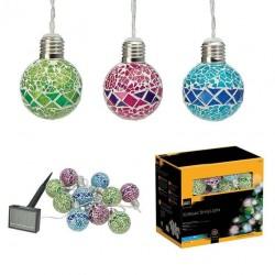 Solárna LED reťaz Cole & Bright Mosaic String - 10 svietidiel