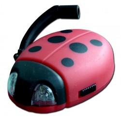 Dynamo svetielko na kľúče - Ladybug