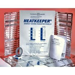 Reflexná fólia za radiátor Heatkeeper - 5 panelov