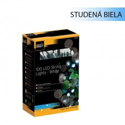 Solárna LED reťaz Cole & Bright Dual Power 100 LED - 11,9m