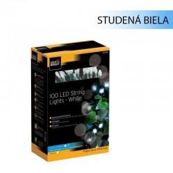 Solárna LED reťaz Cole & Bright Dual Power 100 LED - 11,9m