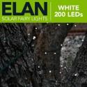 Solárna LED reťaz SolarCentre Elan SS9944 200 LED / 20m studená biela
