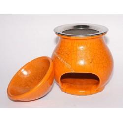 Vykurovacia piecka - Aromalampa, RAKU oranžová