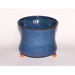 Kadidelnica - keramická vysoká, modrá