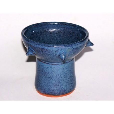 Kadidelnica keramická / pohár s ostňami – modrá