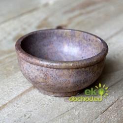KADIDELNICA kamenná miska - mastek, malá