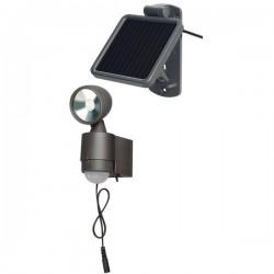 Solárne senzorové LED osvetlenie Brennenstuhl Solar LED-Spot 1170960 4x0,5W LED - antracitové