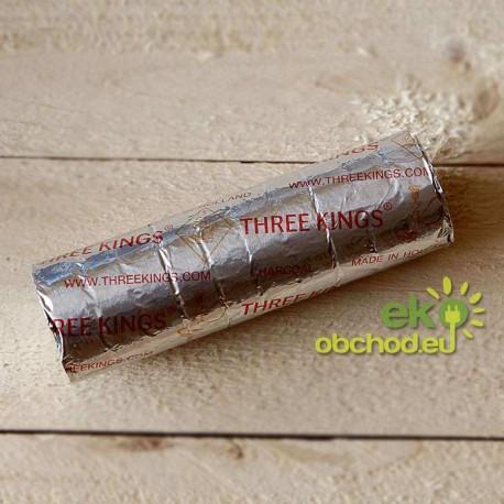 Uhlíky Three Kings - priemer 40mm - 1ks - valec