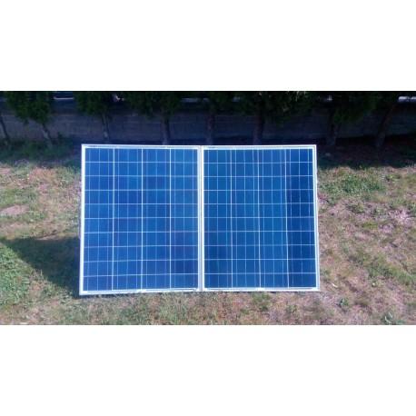 Solárny skladateľný panel polykryštalický 12V - 160W 8,88A s USB
