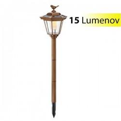Solárne stĺpikové osvetlenie Esotec Tivoli 102062