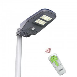 Solárna pouličná lampa na stĺp SCL-01R 1000 Lúmenov s diaľkovým ovládaním
