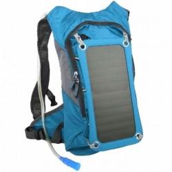 Solárny batoh PowerNeed SBS10 7W modrý