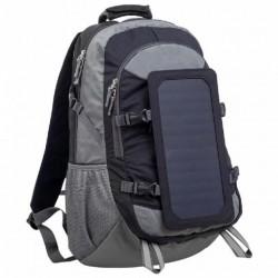 Solárny batoh PowerNeed SBS13 6.5W čierny