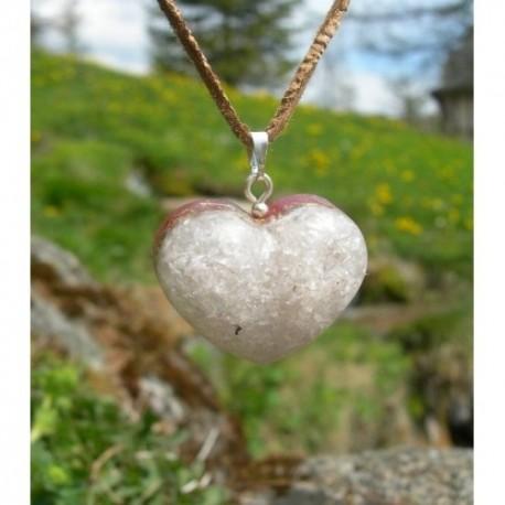 Orgonitový prívesok srdiečko – RUŽENÍN