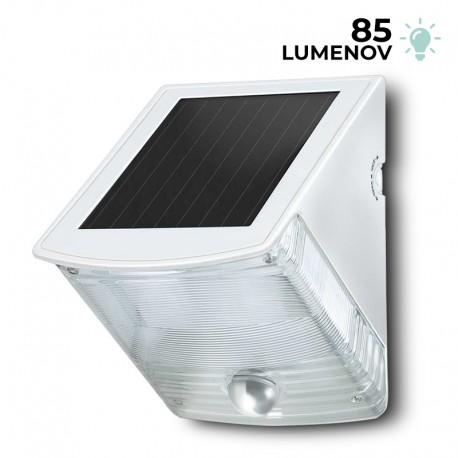 Solárna nástenná LED lampa SOL 04 Brennenstuhl 1170870 s PIR detektorom pohybu