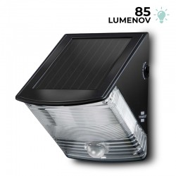 Solárna nástenná LED lampa SOL 04 Brennenstuhl 1170970 s PIR detektorom pohybu