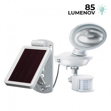 Solárna nástenná LED lampa SOL 04 Brennenstuhl 1170880 s pohybovým PIR detektorom pohybu