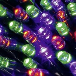 Solárna svetelná reťaz Esotec 102352 50 LED 7m - farebná