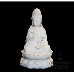 Quan Yin, porcelánová soška - 2