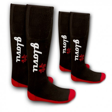 SADA Vyhrievané lyžiarske ponožky Glovii GK2 veľkosť M a L