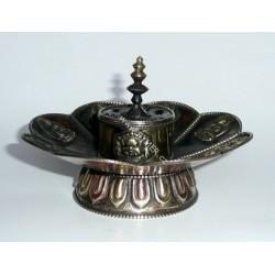 Stojanček na tyčinky Tibet / kovový - meď