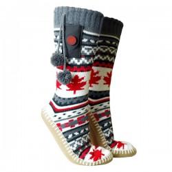 Vyhrievané ponožky s papučami Glovii GOBM