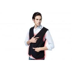 Vyhrievaná fleece vesta Glovii GV1 veľkosť M