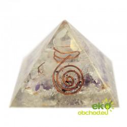 Orgonitová pyramída – Špirála – 55 mm