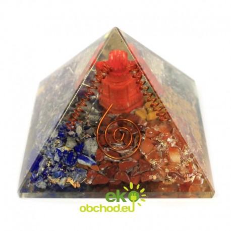 Orgonitová pyramída – Ganesh – 70 mm