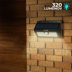 Solárne bezpečnostné LED osvetlenie s pohybovým senzorom POWERplus - Boa 20 LED