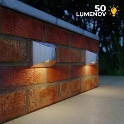 Solárna lampa na stenu s pohybovým senzorom SolarCentre Chiltern - SS9959