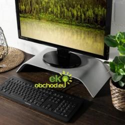 Drevený stojan pod monitor / notebook / Macbook – dub strieborný
