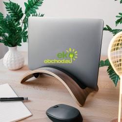 Drevený stojan na tablet / laptop / notebook / Macbook – orech