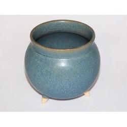 Kadidelnica keramická - kotlík modrý