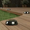 Solárne podlahové osvetlenie SolarCentre - Tapdance (sada 2 biela)
