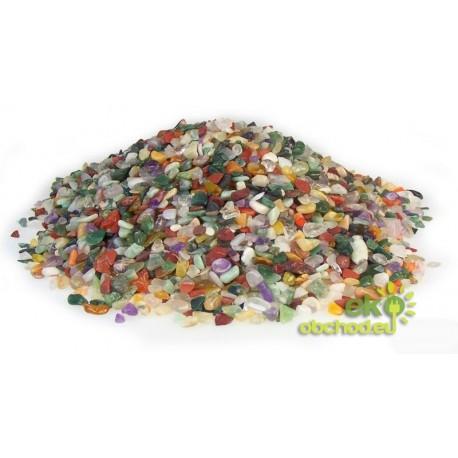 Mix kúskov zo vzácnych kameňov – 1kg