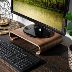 Drevený stojan pod monitor / notebook / Macbook - orech (typ 2)